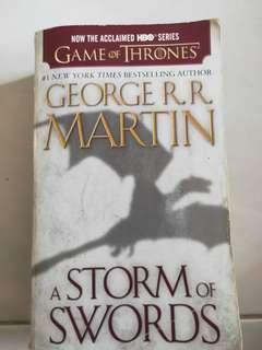 🚚 Game of Thrones: A storm of swords