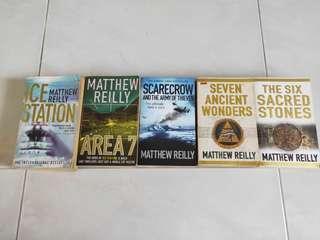 🚚 Matthew Reilly Books