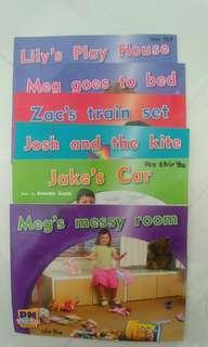 Pre school readers (6 books)