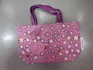 Tsumori Chisato Sleep 星星月亮圖案 小型手挽袋 (Tote Bag) ~ 🇯🇵日本雜誌附錄袋