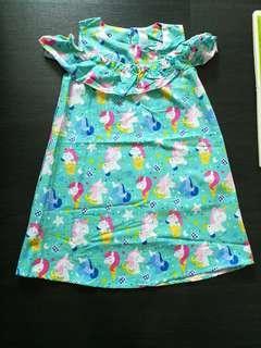 🚚 Brand new cold shoulder unicorn dress