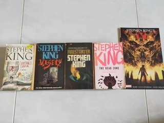 🚚 Stephen King books