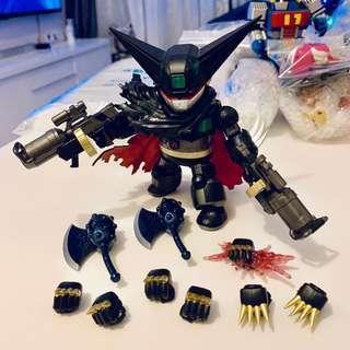 Arcadia AA Alloy Shin Getter Robo Armageddon Black Getter 三一萬能俠