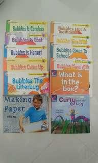 12 readers/ Bubbles Storybooks