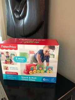 Fisher a Price Stack & Roll