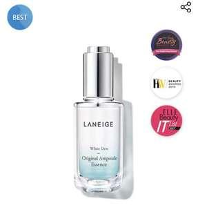 🚚 [Ready Stock] - Laneige White Dew Original Ampoule Essence 40ml Expiry EOY 2021