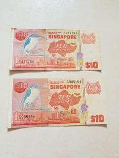 Old $10 Notes