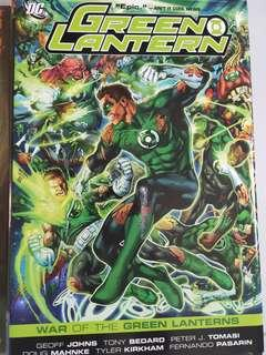 🚚 War of the Green Lanterns