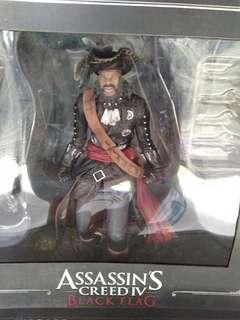 🚚 Assasin's black flag 2 figure black beard and edward kenway