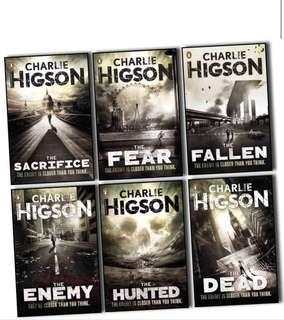 THE ENEMY SERIES — Charlie Higson
