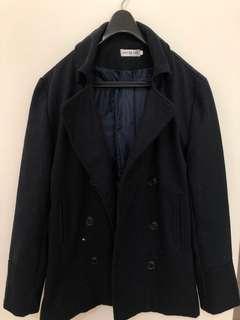🚚 韓版 毛呢大衣外套