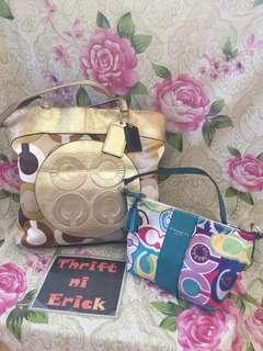 Coach tote & handbag aspack