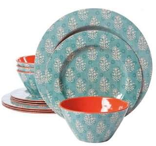 Brand New Studio California 12 Piece Melamine Set