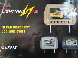 Car Headrest LCD Monitor