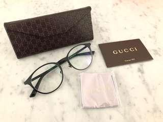 Gucci spectacles/glasses frames