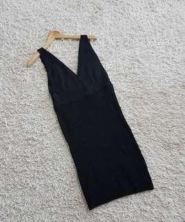 Knite dress bangkok like new ( knit dress cantik / dress import / sexy dress / overall knit )