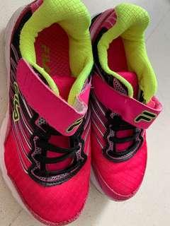 Fila -used pink colour running shoes