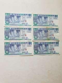 $1 Old Notes