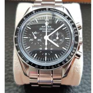 Special limited Omega Speedmaster Co-axial Enamel 50th Anniversary Edition