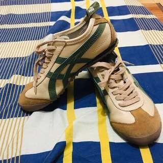 Authentic Onitsuka Tiger Deluxe Beige/Green/Brown