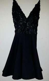 Black dress from honey