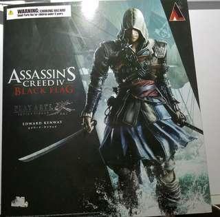 Figure Play Arts Kai Edward Kenway - Assassin's Creed IV - Square Enix