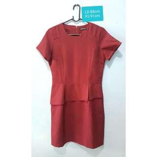 Eprise Maroon Dress