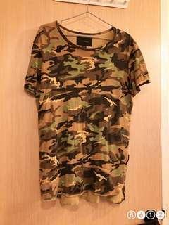 🚚 Long Camo Shirt