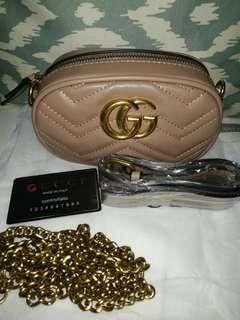 Gucci belt bag with sling
