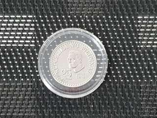 Philippines 25 cents coin 1980