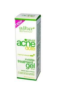 Alba Botanica Acne Dote Invisible Treatment Gel
