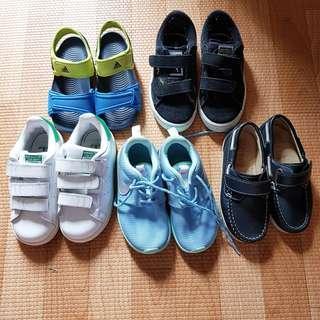 Kids Nike Adidas Puma Sneakers / shoes/ sandals sz eu26 15cm 3 atau 4 thn