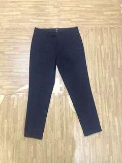 H&M navy trouser