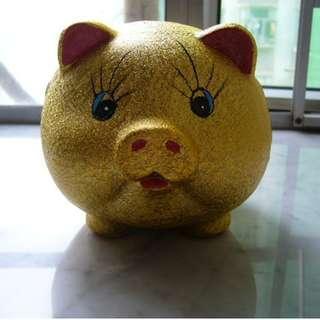 全新金豬錢箱