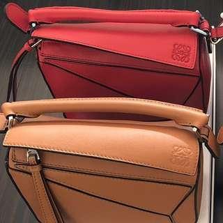 保真 正品 歡迎驗貨 loewe 羅意威 mini 肩背包 側背包 包包 小包