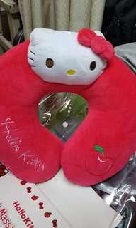 Hello kitty 按摩 頸枕 neek massage pillow