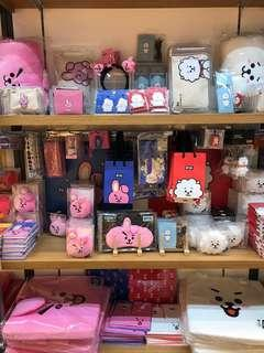 BT21 Stationary Items