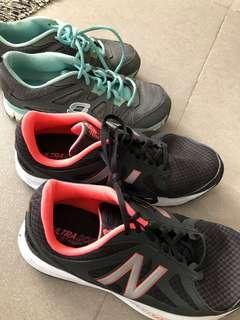 Bundle of women's rubber shoes