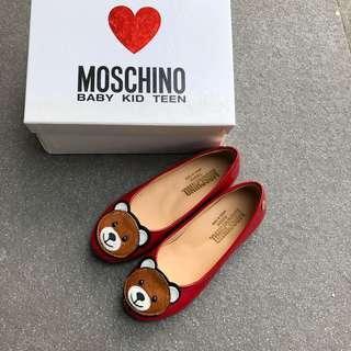 Moschino Girls shoes 熊仔單鞋