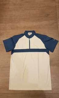 Lomo men's authentic dri fit sports or golf shirt, size M