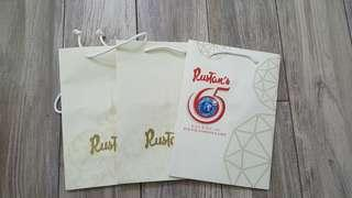 Paper bags for sale