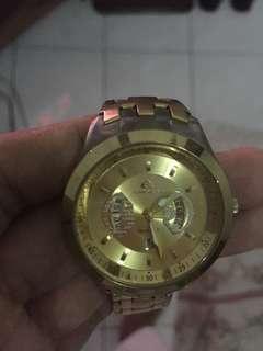 quicksilver watches (gold)