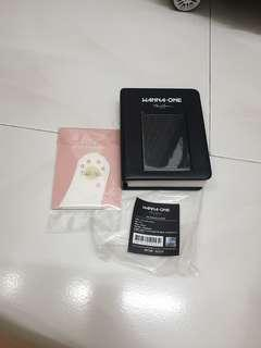 wanna one therefore concert MD photocard album