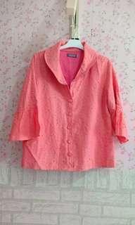 Blouse pink cantik