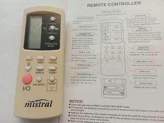 Aircon controller mistral