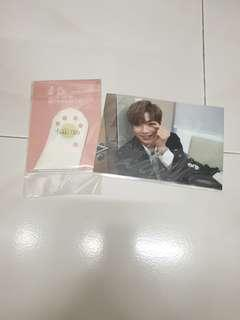 wanna one therefore official md preorder postcard kang daniel