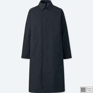 Uniqlo u x lemaire coat black