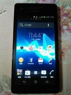 🚚 索尼Sony Xperia VC LT25c雙核心4.3吋亞太電信手機專用 3G 智慧型手機,功能都正常,只賣800元