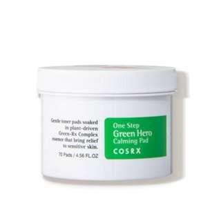 🚚 Cosrx One Step Green Hero Calming Pad ( 70pads )