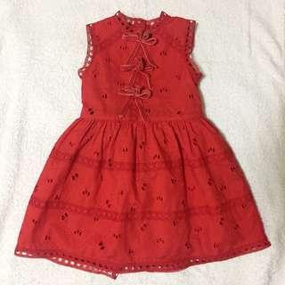 Gingersnaps Red dress